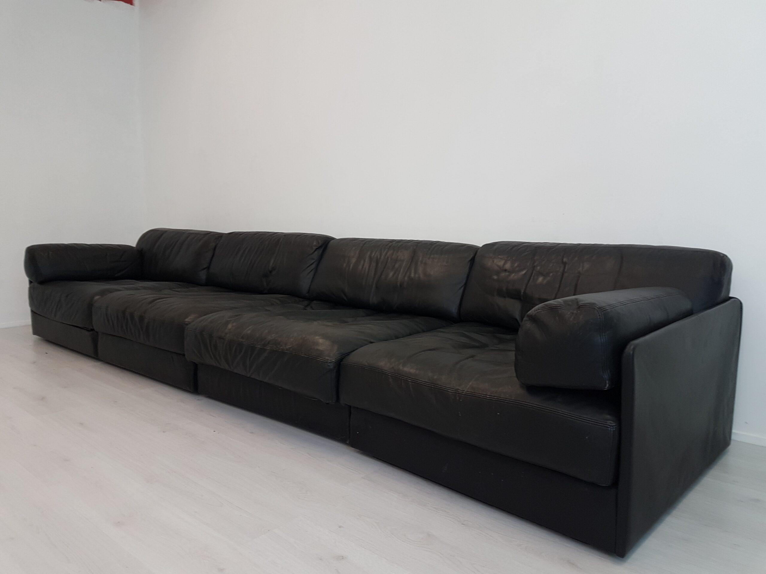 Full Size of De Sede Sofa Modular Ds 76 Black Leather 78489 Mit Verstellbarer Sitztiefe Internat Baden Württemberg Trennwände Garten Badezimmer Deckenleuchte Englisches Sofa De Sede Sofa