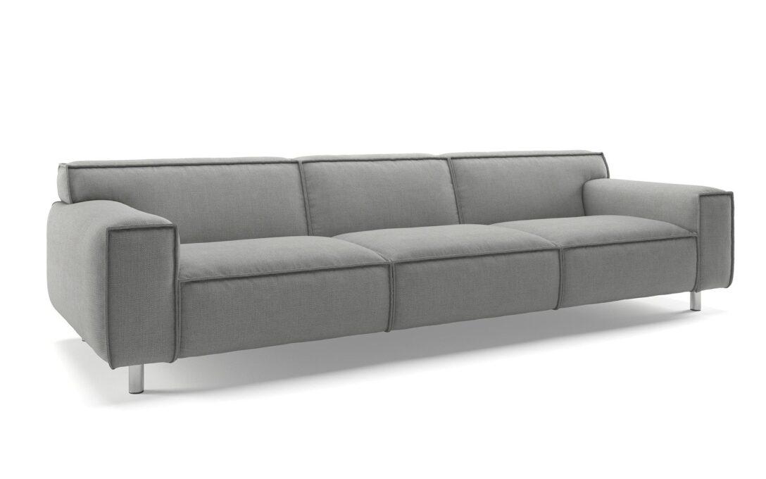 Large Size of 3er Sofa Grau Stoff Big Gebraucht Kaufen Reinigen Couch Meliert Ikea Chesterfield Grober 3 Sitzer Dreisitzer Inspirierend Hersteller Abnehmbarer Bezug Hay Mags Sofa Sofa Grau Stoff