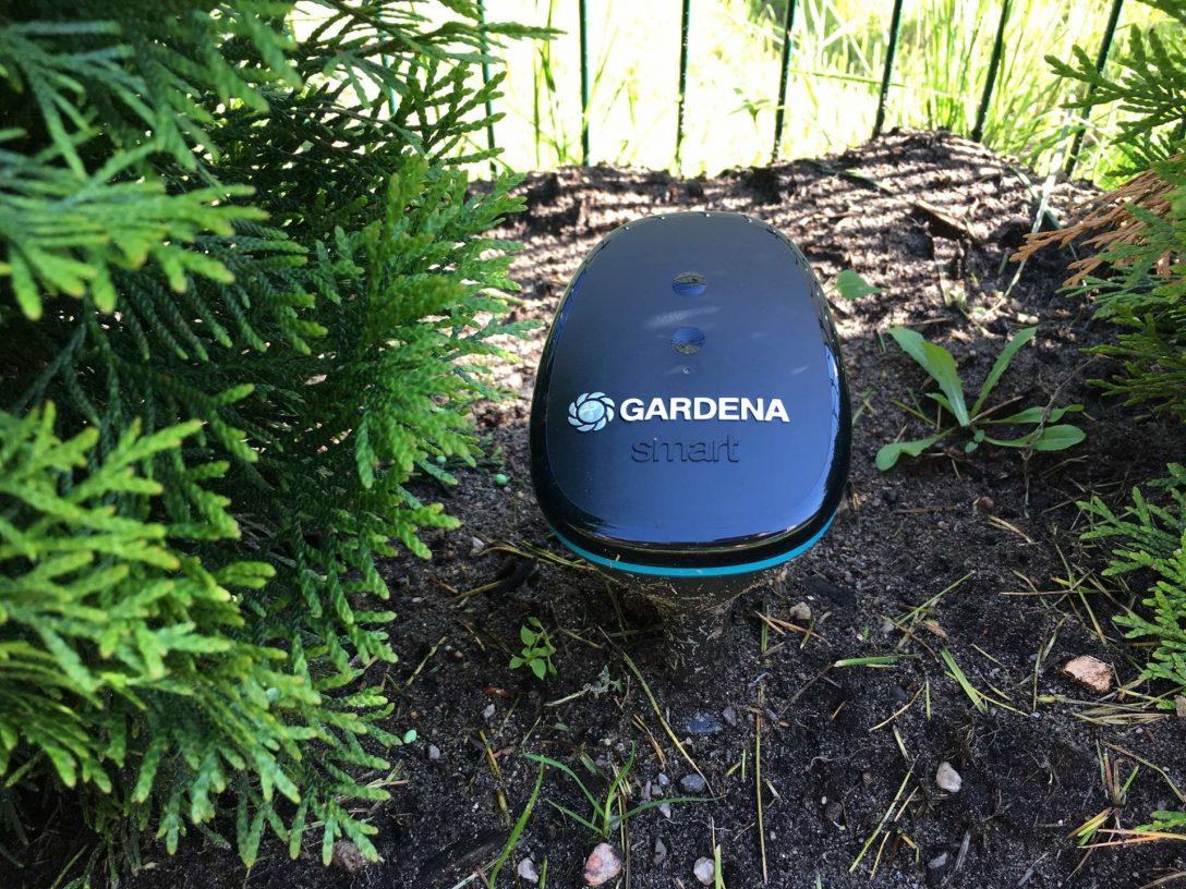 Large Size of Bewässerungssysteme Garten Test Gardena Smart Sensor Control Rasen Bewsserung Automatisieren Holzhäuser Tisch Rattanmöbel Feuerstellen Im Feuerstelle Garten Bewässerungssysteme Garten Test