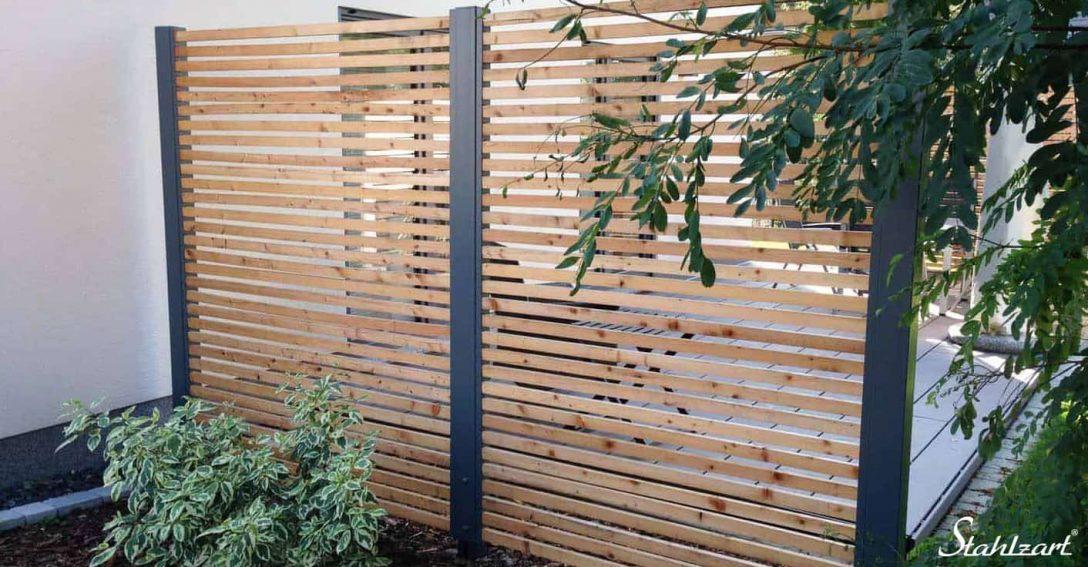 Large Size of Sichtschutz Garten Holz Terrasse Metall Modern Secret 4 Stahlzart Stapelstuhl Rattenbekämpfung Im Paravent Bett Betten Massivholz Für Kugelleuchte Garten Sichtschutz Garten Holz