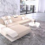 Luxus Sofa Sofa Stoffsofa Venedig L Form Als Ecksofa Mit Mikrofaser Sofa Recamiere Federkern Luxus Schlafzimmer Büffelleder Weißes Big Xxl Boxen Stressless Hussen Bezug