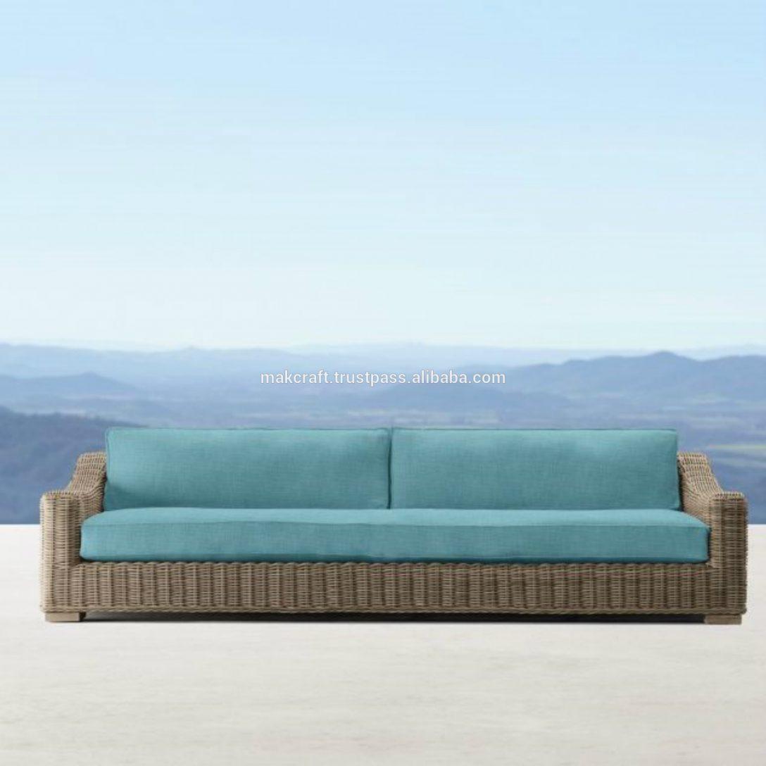 Large Size of Provence Luxe Rattan Lounge Sofa Stuhl 15cm Dicke Sunproof Kissen 2 Sitzer Mit Schlaffunktion Mastleuchten Garten Feuerschale Wasserbrunnen Und Landschaftsbau Garten Lounge Sofa Garten
