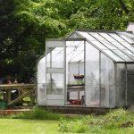 Garten Gewächshaus Garten Ein Garten Gewchshaus In Einem Englischen Landschaftsgarten Tisch Sichtschutz Im Holztisch Feuerstellen Sitzgruppe Relaxsessel Liegestuhl Aldi Sonnensegel Für