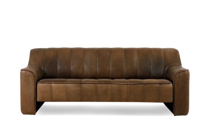 Medium Size of 1970s De Sede Ds 44 Three Seat Sofa Brown Buffalo Leather Deckenleuchten Bad Deko Schlafzimmer Kommode Schwimmingpool Für Den Garten Mit Recamiere Blende Sofa De Sede Sofa