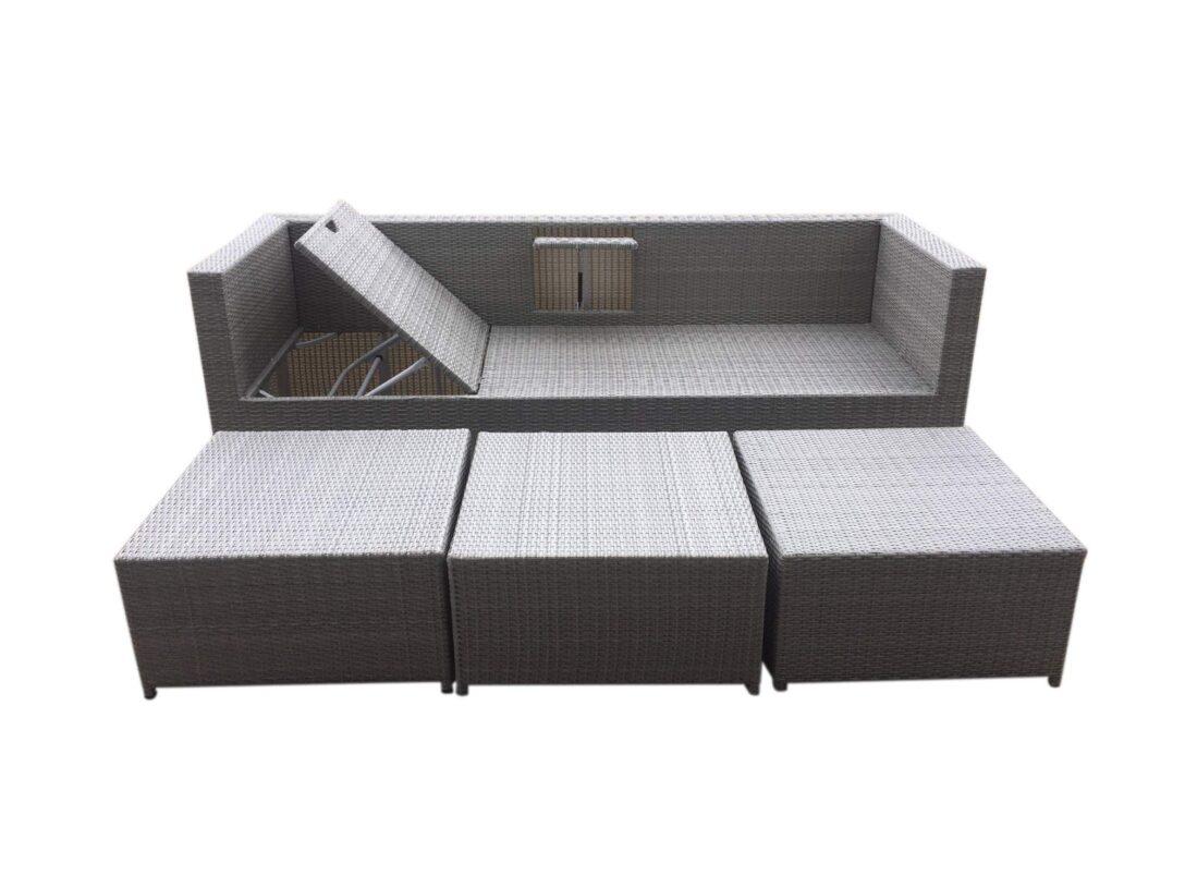Large Size of Polyrattan Sofa Outdoor Tchibo Lounge Garden Set Couch Ausziehbar Grau Rattan 2 Sitzer Balkon Gartensofa 2 Sitzer 4 Tlg Aluminiumgestell Boxspring Günstige Sofa Polyrattan Sofa