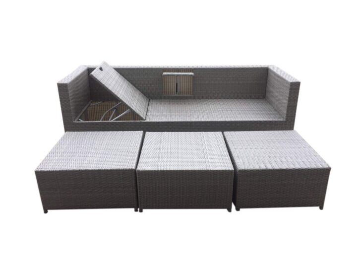 Medium Size of Polyrattan Sofa Outdoor Tchibo Lounge Garden Set Couch Ausziehbar Grau Rattan 2 Sitzer Balkon Gartensofa 2 Sitzer 4 Tlg Aluminiumgestell Boxspring Günstige Sofa Polyrattan Sofa