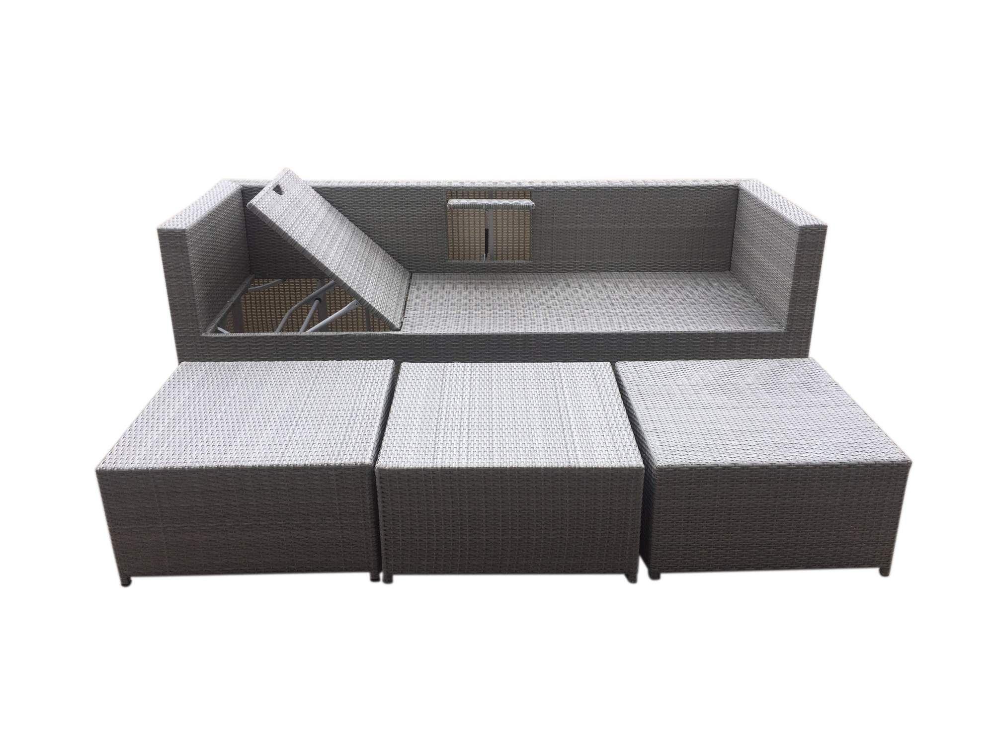 Full Size of Polyrattan Sofa Outdoor Tchibo Lounge Garden Set Couch Ausziehbar Grau Rattan 2 Sitzer Balkon Gartensofa 2 Sitzer 4 Tlg Aluminiumgestell Boxspring Günstige Sofa Polyrattan Sofa