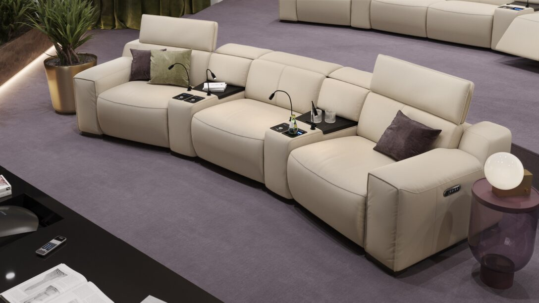 Large Size of Heimkino Sofa Elektrisch Test Kaufen Leder Musterring Couch Heimkino Sofa Lederlook Schwarz Himolla 3 Sitzer 3er Tv Sessel Loreto Sofanella Günstig Sofa Heimkino Sofa