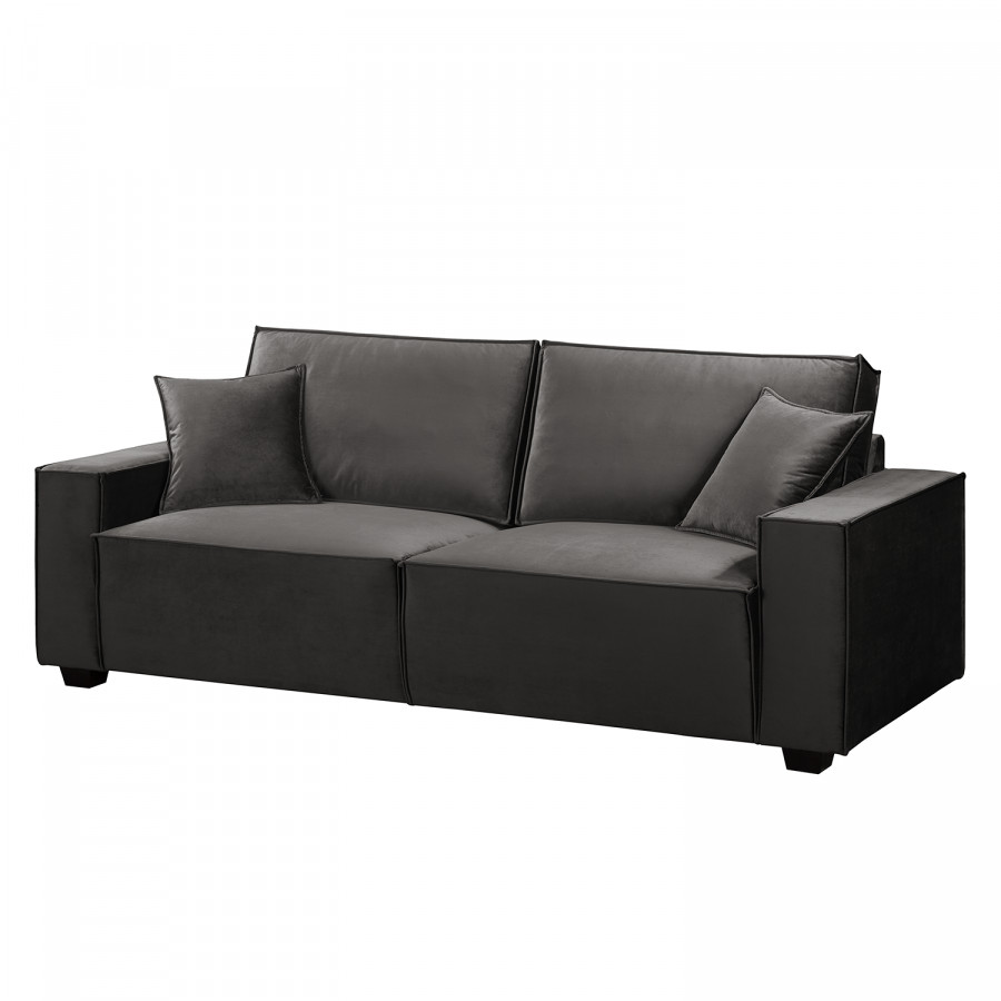 Full Size of Sofa 3 Sitzer Grau Retro Kingsley 3 Sitzer Couch 2 Und Louisiana (3 Sitzer Mit Polster Grau) Samt Nino Schwarz/grau Rattan Ikea Leder Schlaffunktion Muriba Iii Sofa Sofa 3 Sitzer Grau