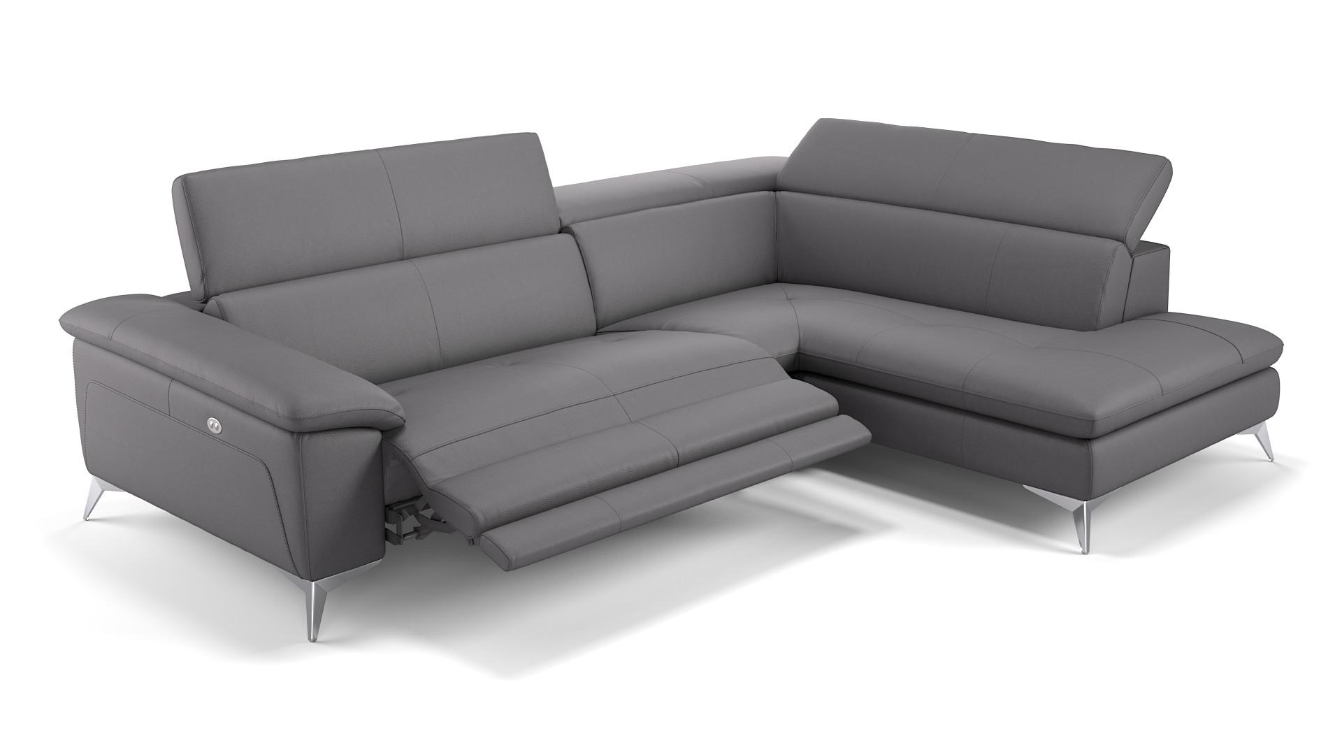 Full Size of Eck Sofa Stella Echtleder Ecksofa Design Couch In Leder Sofanella Garten Petrol Beziehen Reinigen Rahaus Karup Türkische Schlaffunktion Deckenleuchte Sofa Eck Sofa
