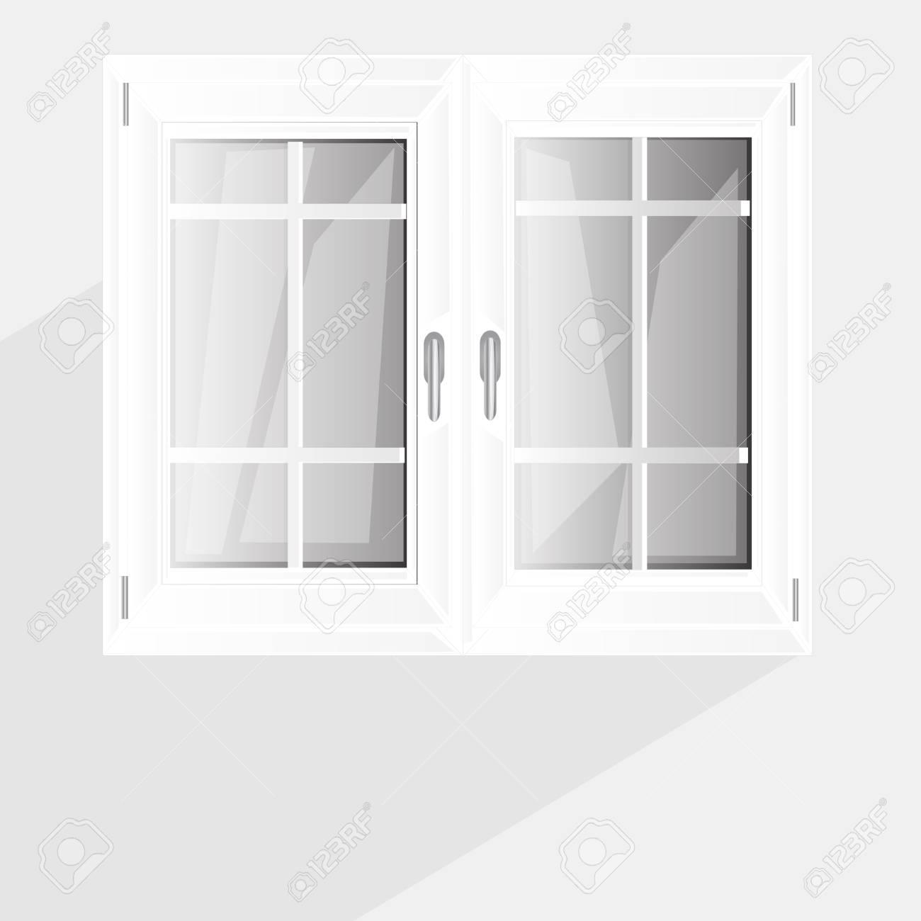 Full Size of Vector Fenster Kunststoff Glosed Abbildung Inter Wei Lizenzfrei Velux Preise Aluplast Marken Trier Sonnenschutz Drutex Auf Maß Stores Wärmeschutzfolie Holz Fenster Fenster Kunststoff