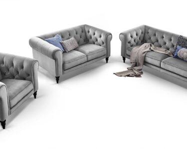Sofa 3 2 1 Sitzer Sofa Sofa 3 2 1 Sitzer Couchgarnitur 3 2 1 Sitzer Chesterfield Superior Samt Big Emma Emma Sitzgarnitur Hudson Comfort2home Federkern Kare W Schillig Sitzhöhe 55