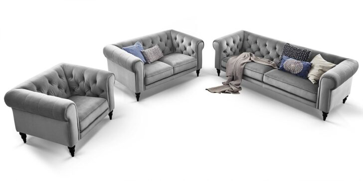 Medium Size of Sofa 3 2 1 Sitzer Couchgarnitur 3 2 1 Sitzer Chesterfield Superior Samt Big Emma Emma Sitzgarnitur Hudson Comfort2home Federkern Kare W Schillig Sitzhöhe 55 Sofa Sofa 3 2 1 Sitzer