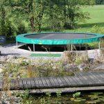 Trampolin Im Garten Eingraben Trampoline Center Schweiz Vertikal Fussballtor Leuchtkugel Bewässerungssystem Klapptisch Liege Schaukelstuhl Klappstuhl Garten Trampolin Garten