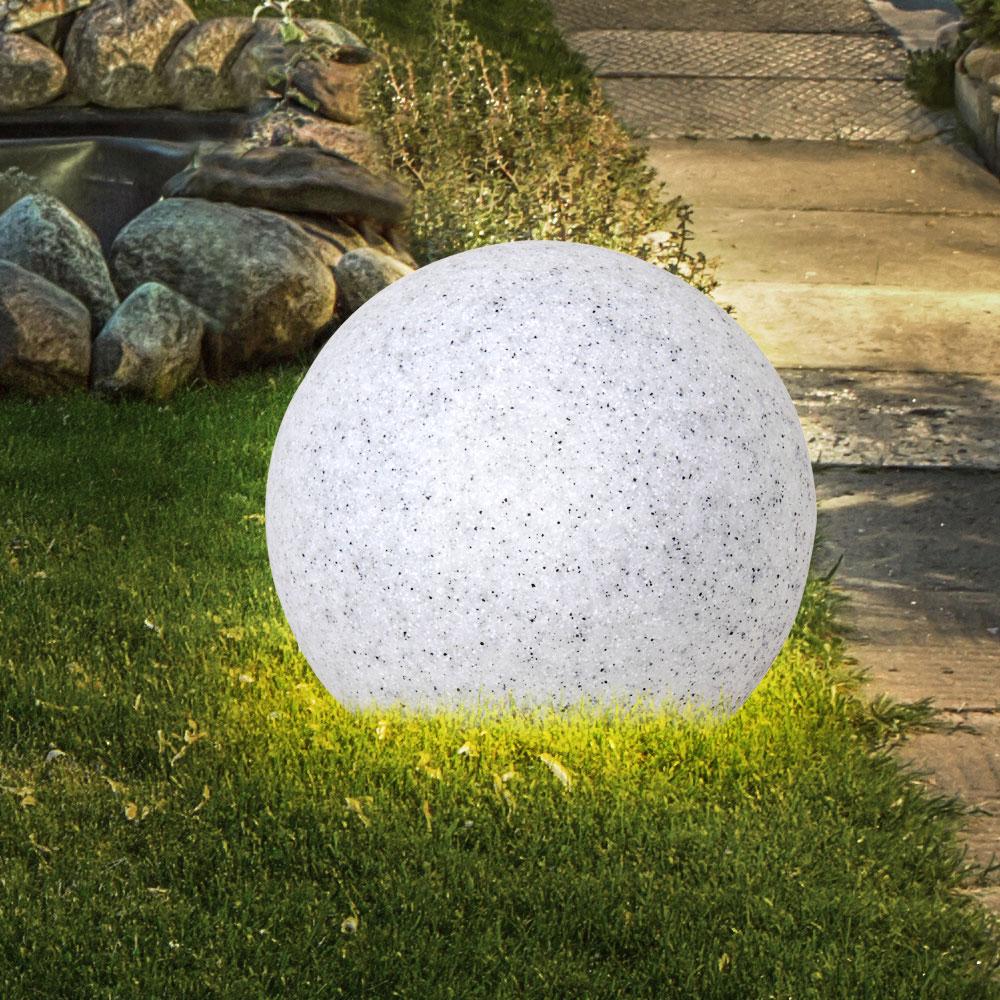 Full Size of Leuchtkugel Garten Elegante In Granit Optik Etc Shop Rattanmöbel Wassertank Gaskamin Kinderspielturm Gewächshaus Klettergerüst Relaxsessel Klappstuhl Garten Leuchtkugel Garten