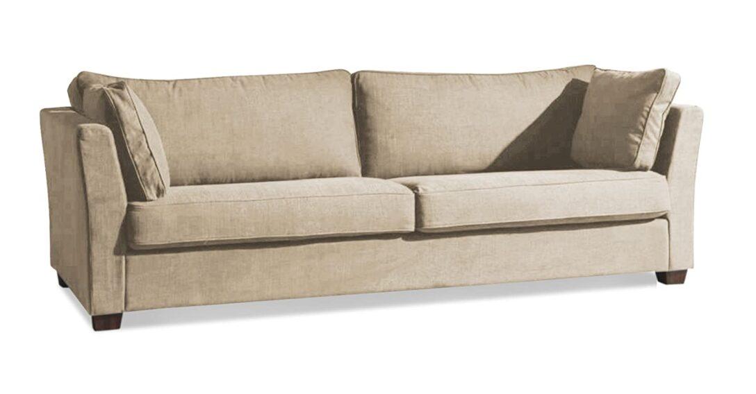 Large Size of Sofa Kaufen Günstig 3 Sitz Sama In Einem Baumwoll Leinen Gemisch Stoff Shadow Einbauküche Chesterfield Leder Ohne Lehne Regal Polster Reinigen Natura Sofa Sofa Kaufen Günstig