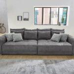 Günstiges Sofa Sofa Big Sofa In Dunkelgrau Microfaserstoff Gnstig Online Kaufen Lagerverkauf Türkis Halbrundes Indomo Mondo Lederpflege Benz überwurf 2 Sitzer Mit Schlaffunktion