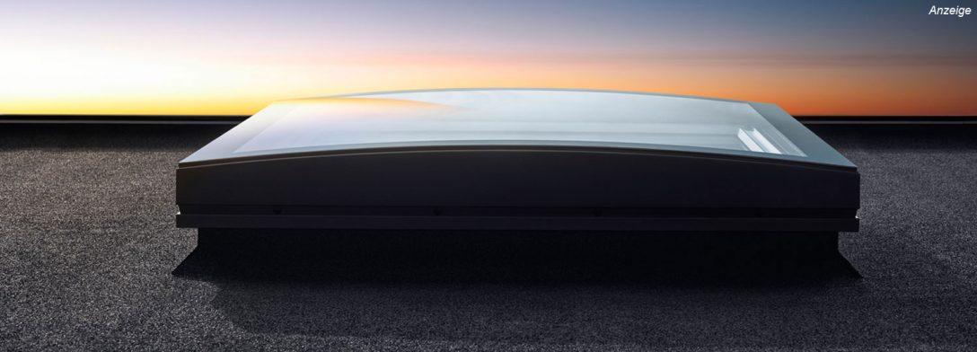 Large Size of Gestalten Mit Dem Werkstoff Licht Flachdach Fenster Von Velux Sprossen Rc 2 Sichtschutzfolie Welten Polnische Rolladen Alarmanlage Standardmaße Insektenschutz Fenster Flachdach Fenster