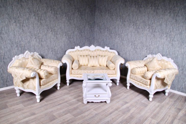 Medium Size of Barock Sofa Garnitur Couch Sessel Antik Massiv Wei Creme Gold Ausziehbar Ottomane Blau Rattan Garten Kleines Wohnzimmer Türkis Hannover Big Grau Kissen Muuto Sofa Barock Sofa