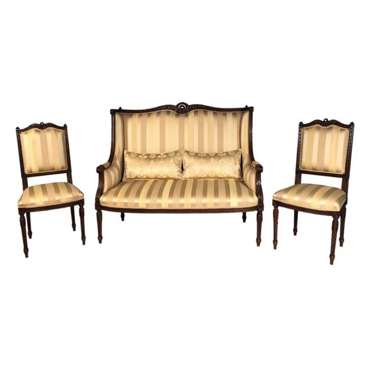 Medium Size of Antikes Sofa Im Louis Xvi Stil Restauriert Sommacal Store Rotes Große Kissen Landhausstil Blaues Sitzhöhe 55 Cm U Form Xxl Grau Grünes Cognac Sofa Antikes Sofa