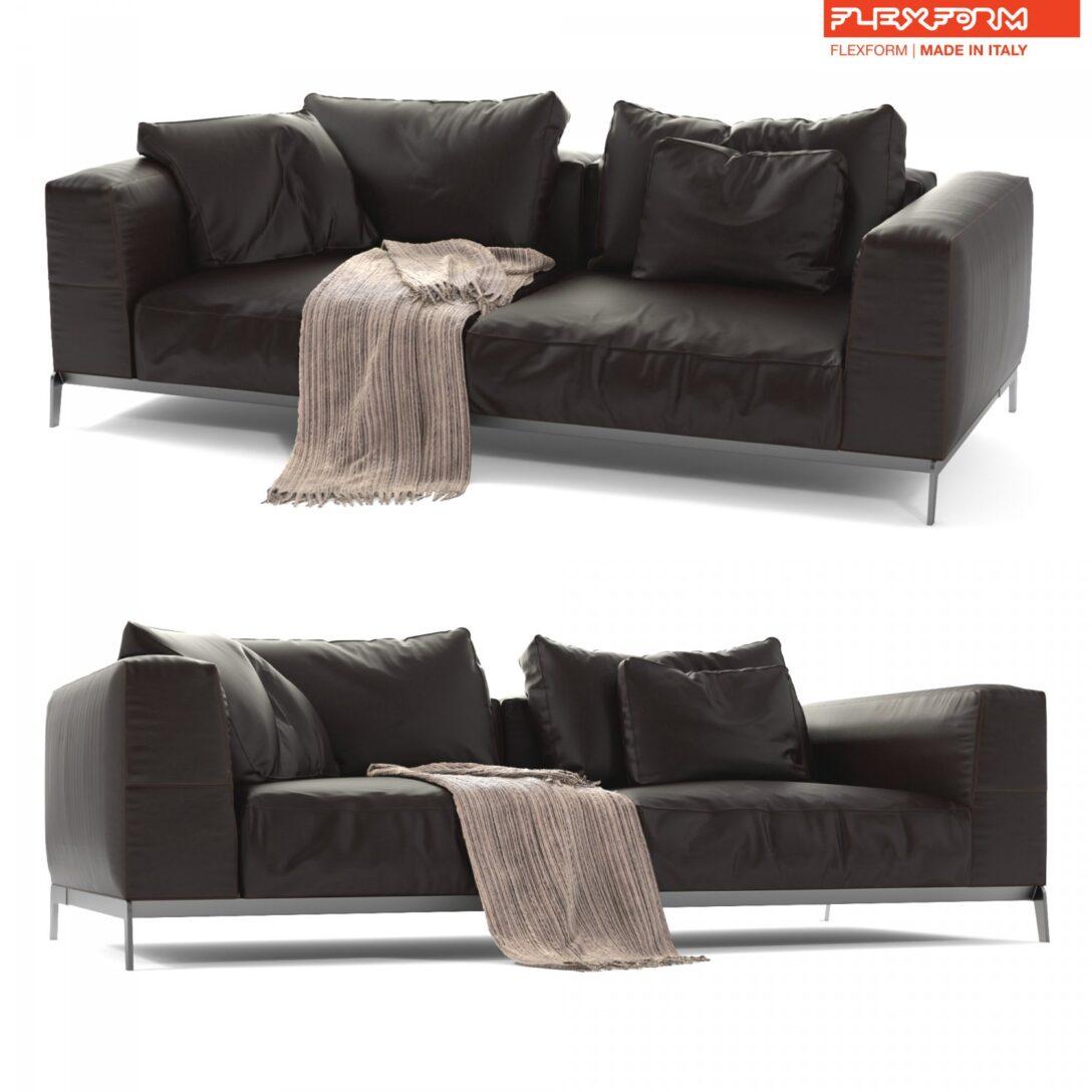 Large Size of Flexform Leather Sofa Ettore 3d In Mit Schlaffunktion Dreisitzer Chesterfield Hannover Günstige W Schillig Polyrattan Karup Kolonialstil Brühl Sofa Flexform Sofa