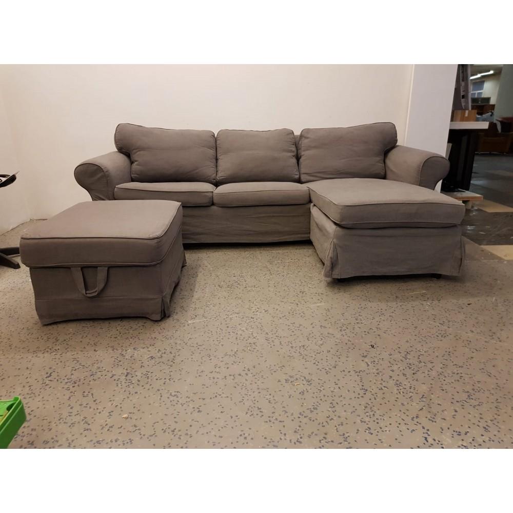 Full Size of Ikea Ektorp Sofa With Chaise Slipcover Cover White 2 Seater Dimensions Inches Blue Ebay Couch Landschaft Indomo 3 Sitzer Grau Ausziehbar Mit Schlaffunktion Sofa Ektorp Sofa
