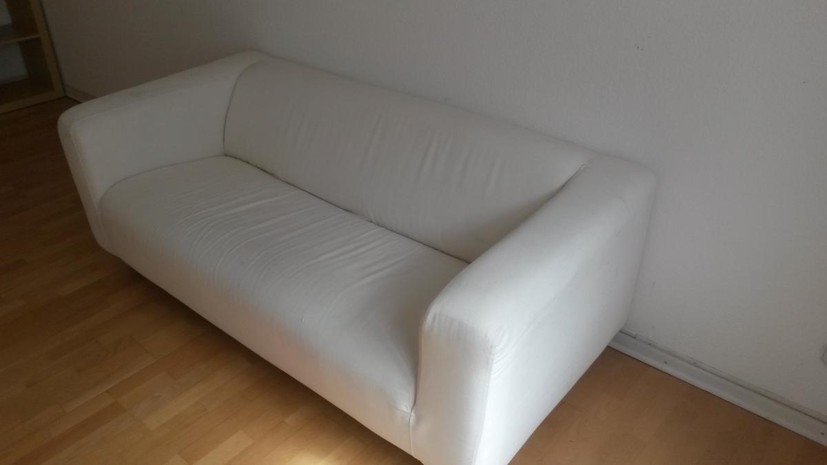 Full Size of Weißes Sofa Weies Ikea Zu Verschenken In Kln Free Your Stuff Mit Abnehmbaren Bezug Chesterfield Günstig Altes Ewald Schillig Lounge Garten Günstige 2 Sitzer Sofa Weißes Sofa