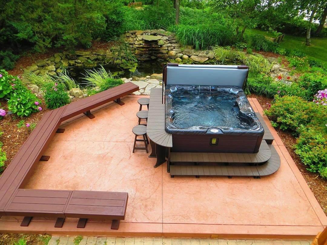 Full Size of 5 Dinge Pavillon Garten Sichtschutz Im Sauna Mini Pool Spielhaus Kunststoff Lärmschutz Spielturm überdachung Ecksofa Bewässerungssystem Beistelltisch Garten Garten Whirlpool