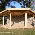 Gartenüberdachung Naturstamm Carportbau Beratung Garten Gartenüberdachung