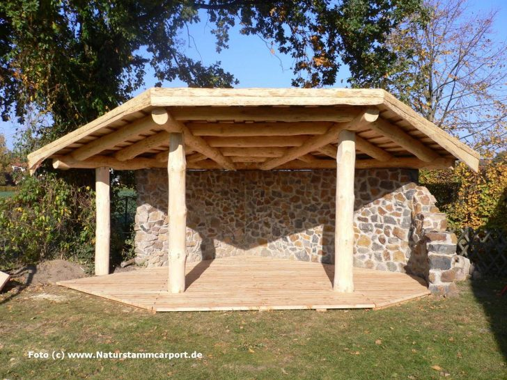 Medium Size of Gartenüberdachung Naturstamm Carportbau Beratung Garten Gartenüberdachung