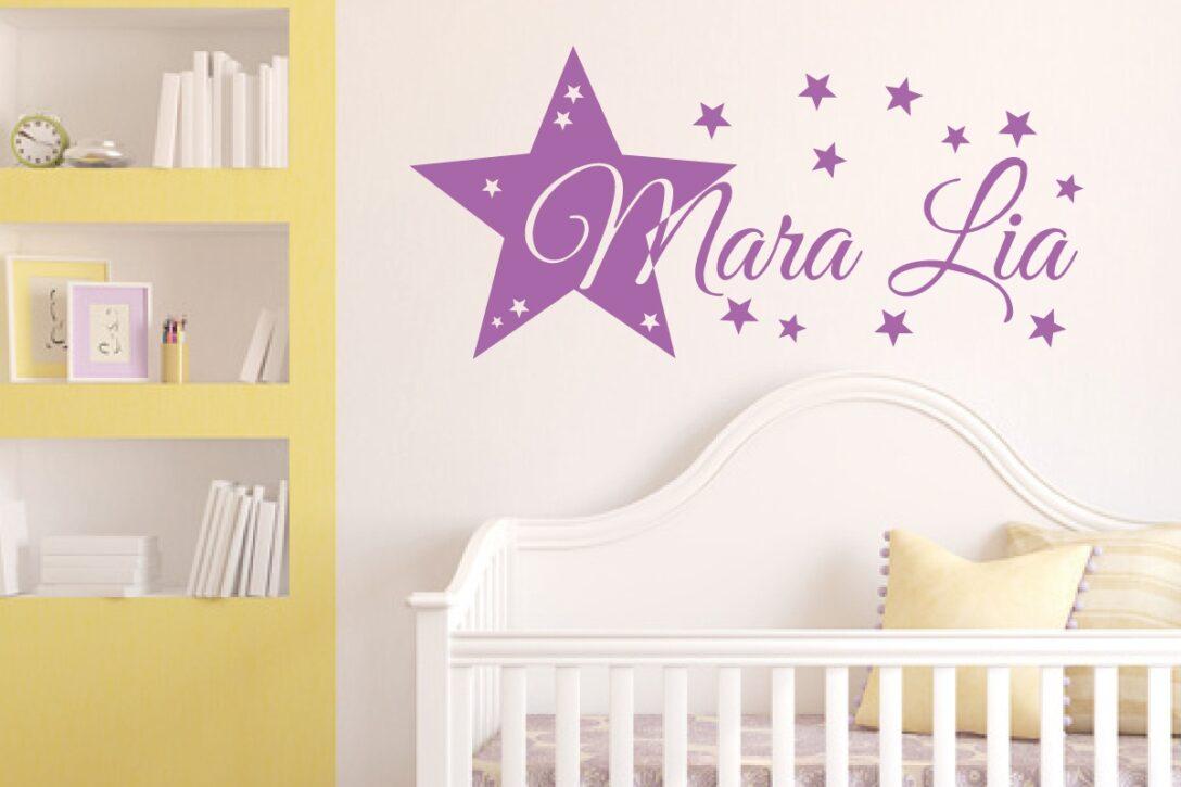 Large Size of Wandtattoo Kinderzimmer Stern Und Wunschname Regal Weiß Regale Sofa Kinderzimmer Wandaufkleber Kinderzimmer