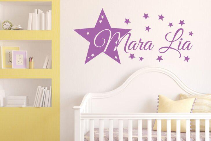 Medium Size of Wandtattoo Kinderzimmer Stern Und Wunschname Regal Weiß Regale Sofa Kinderzimmer Wandaufkleber Kinderzimmer