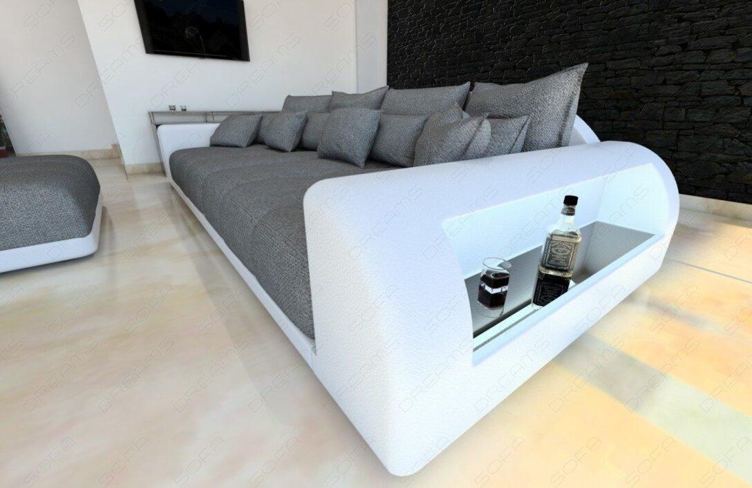 Large Size of Big Sofa Miami Couch Mit Beleuchteten Armlehnen Garten Ecksofa Blau Ausziehbar 2er Grau Chesterfield Günstig Englisch Ohne Lehne Led Rattan Leder Bezug Sofa Xxl Sofa Grau