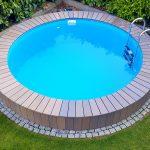 Schwimmbecken Garten Garten So Verpassen Sie Ihrem Gewhnlichen Schwimmbecken Ein Sichtschutz Im Garten Holzhaus Kind Brunnen Hängesessel Kugelleuchte Eckbank Sonnenschutz Bewässerung