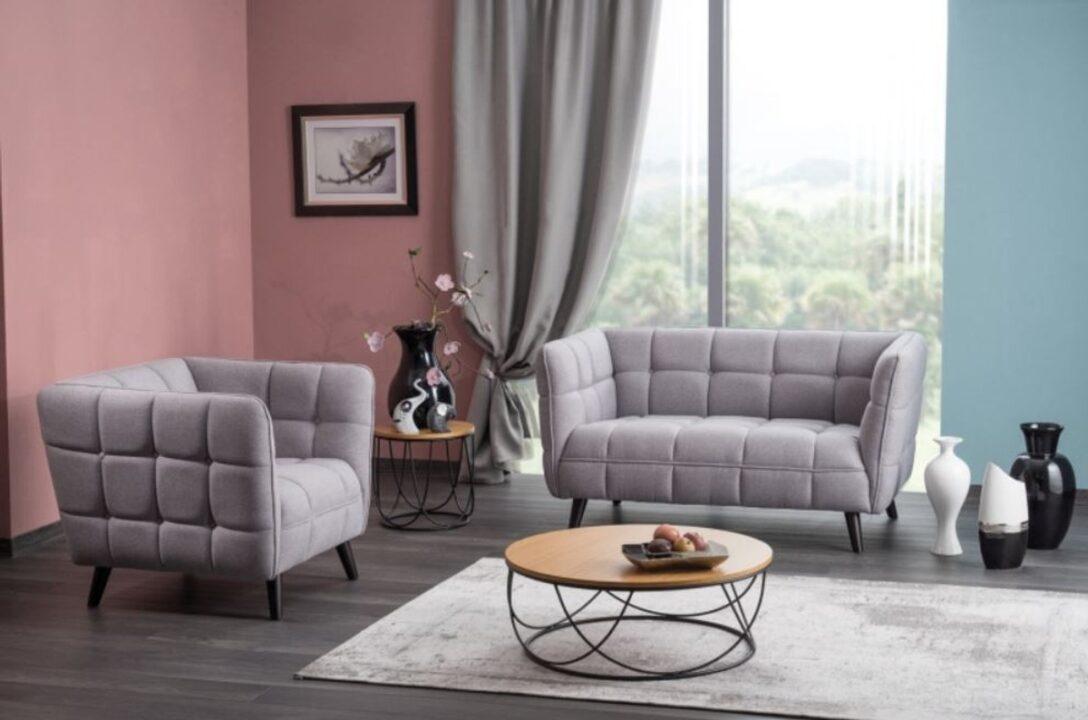 Large Size of Casa Padrino Luxus Sofa Grau Schwarz 142 85 H 78 Cm Günstig Kaufen Ebay Rahaus U Form Big Großes Spannbezug L Barock 3er Sofa Luxus Sofa