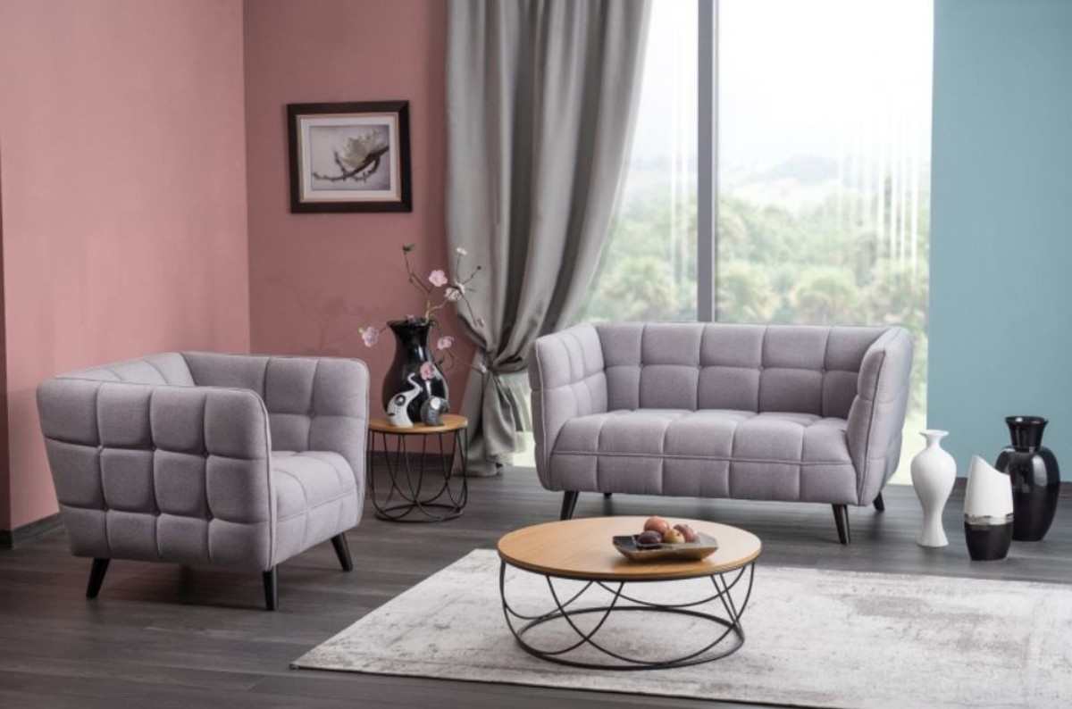 Full Size of Casa Padrino Luxus Sofa Grau Schwarz 142 85 H 78 Cm Günstig Kaufen Ebay Rahaus U Form Big Großes Spannbezug L Barock 3er Sofa Luxus Sofa