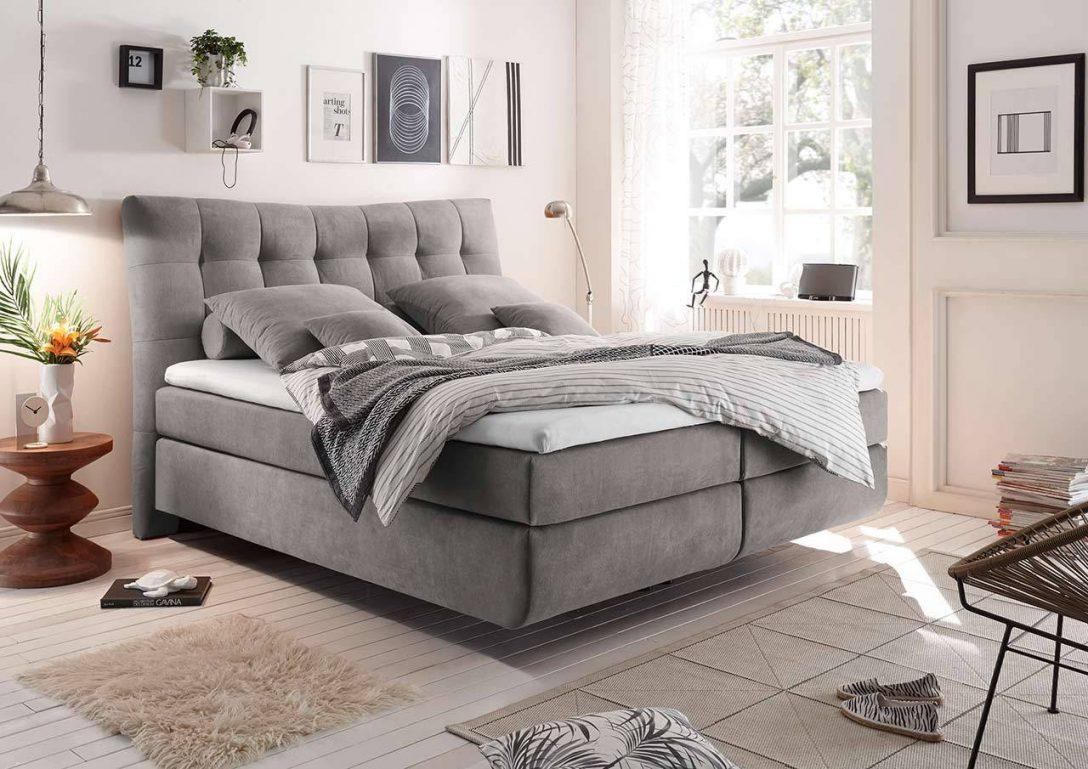 Large Size of Boxspringbett In 180 200 Cm Hellgrau Gnstig Online Kaufen Bett 180x200 Mit Bettkasten Betten Landhausstil überlänge Massivholz Bei Ikea Günstiges Sofa Bett Günstige Betten 180x200