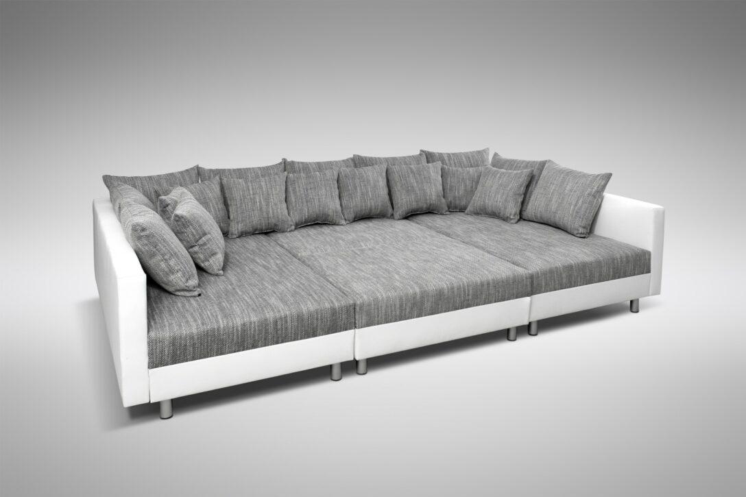 Large Size of Sofa Couch Ecksofa Eckcouch In Weiss Hellgrau Mit Hocker Big Kaufen Braun Sam Rolf Benz Xxxl Blau Grünes Reiniger Polster Relaxfunktion 3 Sitzer Sofa Sofa Hocker