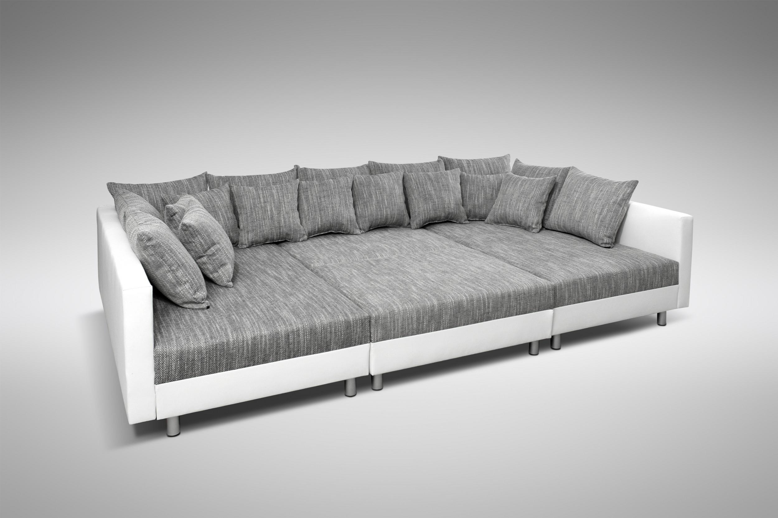 Full Size of Sofa Couch Ecksofa Eckcouch In Weiss Hellgrau Mit Hocker Big Kaufen Braun Sam Rolf Benz Xxxl Blau Grünes Reiniger Polster Relaxfunktion 3 Sitzer Sofa Sofa Hocker