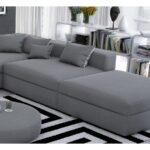 Sofa Stoff Grau Meliert Couch Reinigen Graues Schlaffunktion Grauer 3er Kaufen Chesterfield Gebraucht Ikea Sofas Big Grober Eckcouch Luxus Rattan Leinen Togo Sofa Sofa Stoff Grau