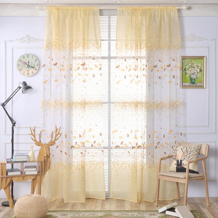 Medium Size of Floral Tll Vorhnge Fenster Screening Ginkgo Biloba Sofa Regal Regale Schlafzimmer Vorhänge Küche Weiß Wohnzimmer Kinderzimmer Kinderzimmer Vorhänge
