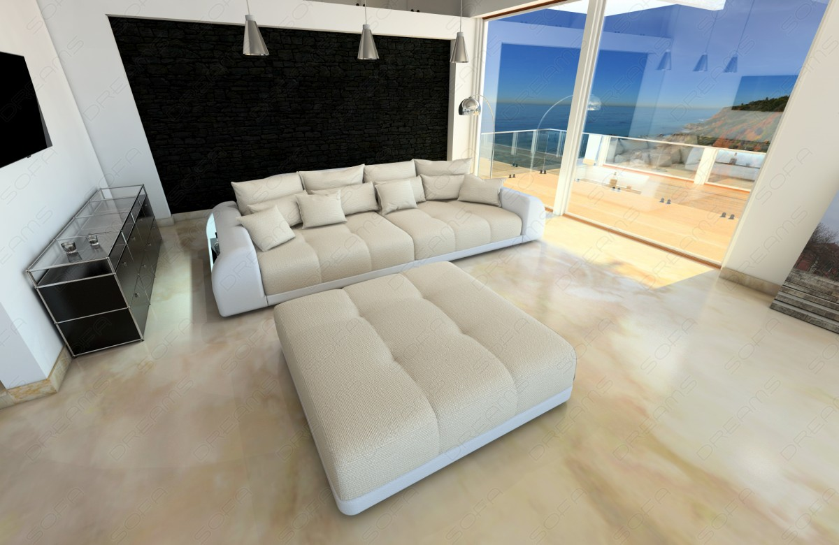 Full Size of Big Sofa Kaufen Wei Xxl Miami Megasofa Mit Beleuchtung Betten Günstig 180x200 Grau Online Ebay Kolonialstil Bora Esstisch Spannbezug Sitzsack Indomo Sofa Big Sofa Kaufen