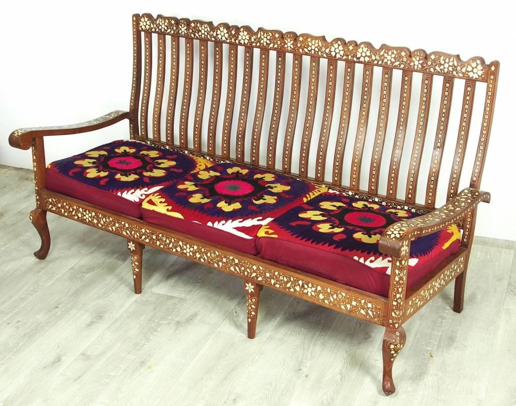 Full Size of Sofa Antik 3 Teilige Indian Anglo Couch Garnitur Sofagarnitur Sessel Sitzer Mit Relaxfunktion Alcantara Cassina Kissen 2 Chesterfield Leder Angebote Günstig Sofa Sofa Antik