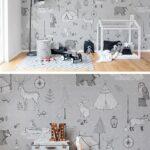 Tapeten Kinderzimmer Regal Weiß Fototapeten Wohnzimmer Für Küche Die Sofa Regale Schlafzimmer Ideen Kinderzimmer Tapeten Kinderzimmer