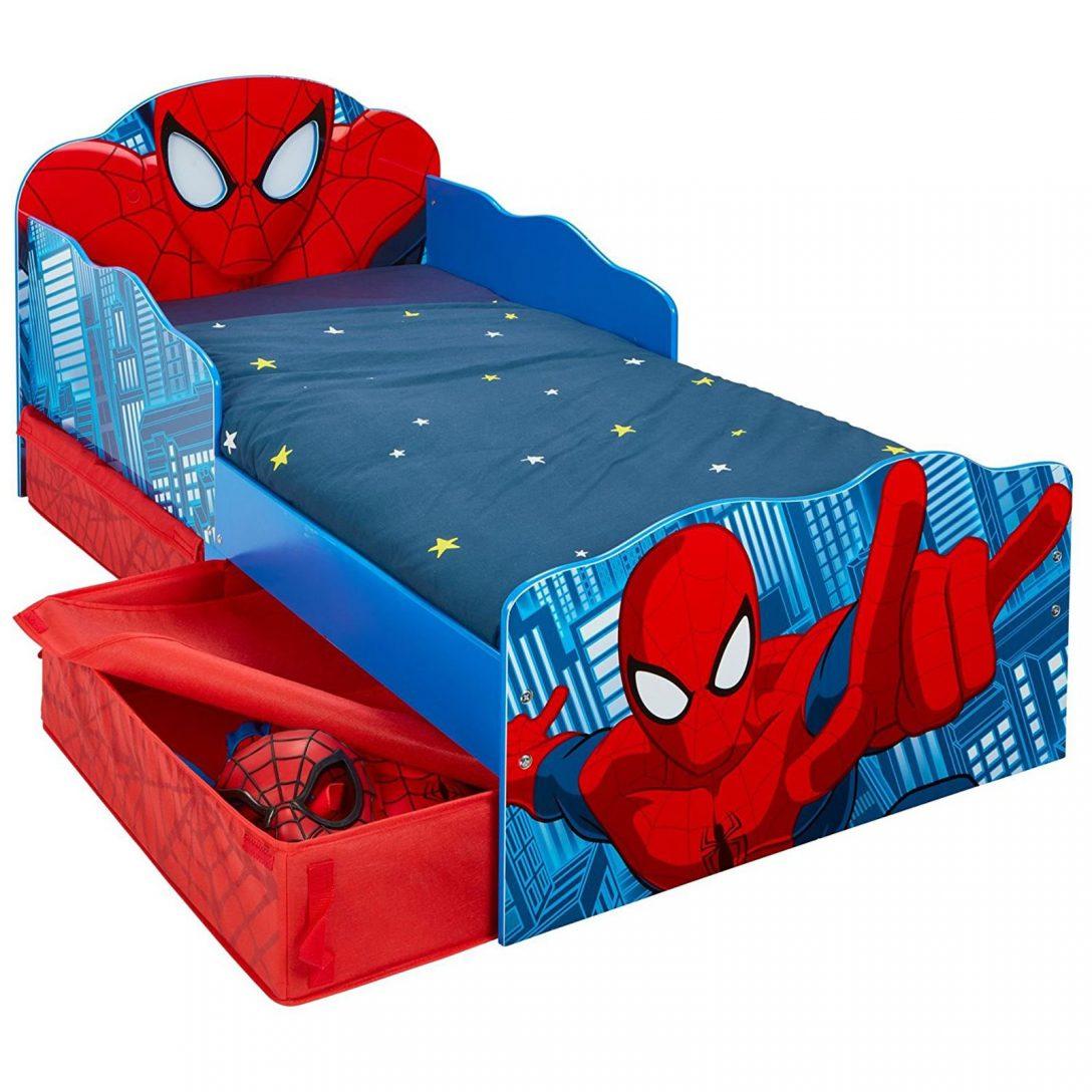 Large Size of Spiderman Kleinkind Bett Mit Lager Und Automatische Ausblendung Antik 120 Cm Breit Clinique Even Better Foundation Ausklappbares Landhausstil Komplett Stauraum Bett Bett Kleinkind