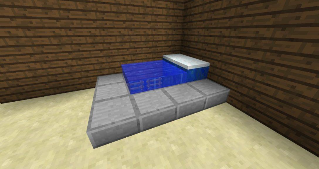 Large Size of Funktionales Groes Bett In Minecraft Bauen Bauideende Kopfteil 140 Massiv 180x200 Bette Floor Podest Mit Matratze Und Lattenrost 140x200 Ausgefallene Betten Bett Großes Bett