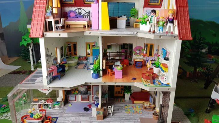 Medium Size of Luxusvilla Frhling Kinderzimmer Einrichten Pimp My Playmobil Regale Regal Sofa Weiß Kinderzimmer Kinderzimmer Einrichtung