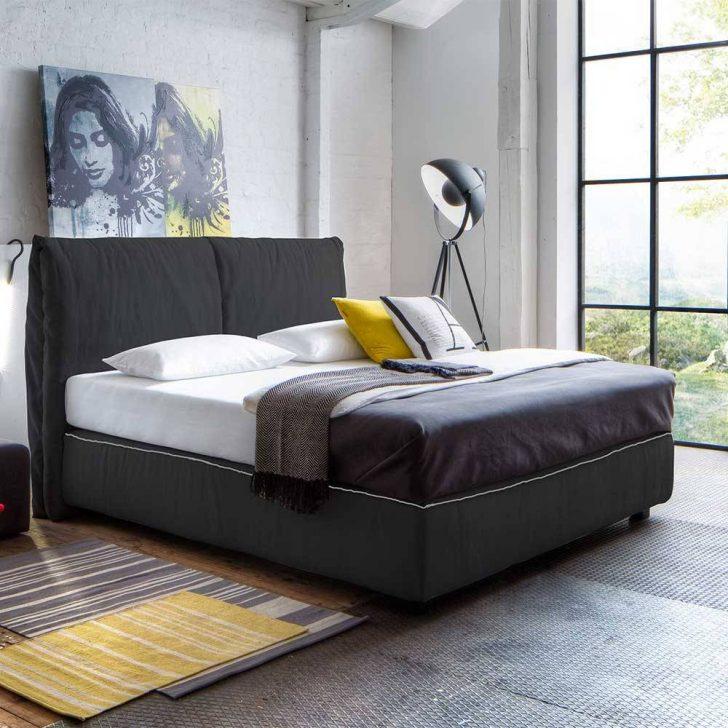 Bett Modern Amerikanisches Tabaco In Anthrazit Webstoff Pharao24de Rattan Minion Betten Mit Matratze Und Lattenrost 140x200 Französische Kopfteil Selber Bauen Wohnzimmer Bett Modern