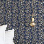 Thumbnail Size of Tapete Belinda Blau In 2020 Tapeten Modernes Bett Küche Holz Modern Design Moderne Esstische Duschen Sofa 180x200 Bilder Fürs Wohnzimmer Fototapeten Wohnzimmer Tapeten Modern