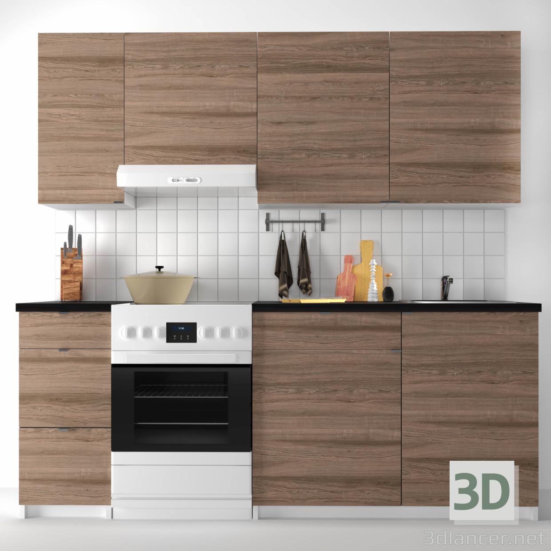 Full Size of Küche Ikea 3d Modell Modulare Kche Kohokhult Steht In Folgenden Sideboard Mit Arbeitsplatte Blende Lüftung Selber Planen Vorratsschrank Kräutertopf Wohnzimmer Küche Ikea